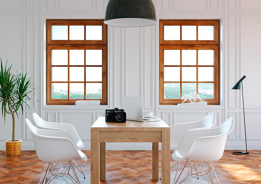 Cambio a ventanas de madera en Sevilla